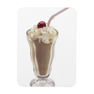 Milkshake Rectangular Photo Magnet