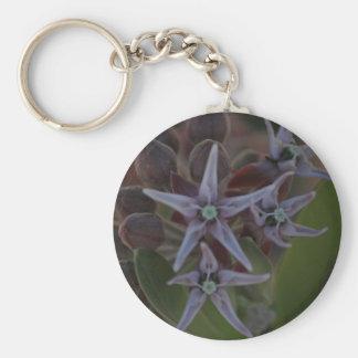 Milkweed Blossom Keychains