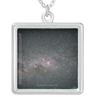 Milky Way 2 Silver Plated Necklace