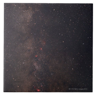 Milky Way 5 Large Square Tile