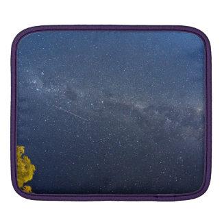 Milky Way and Shooting Star iPad Case iPad Sleeve