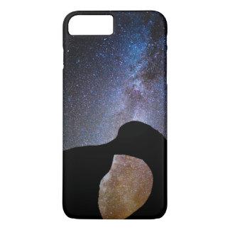 Milky way at night, California iPhone 8 Plus/7 Plus Case