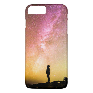 Milky Way Beautiful Colorful Nature Scenery iPhone 7 Plus Case