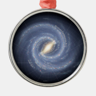 Milky Way Christmas Ornament