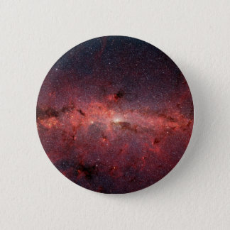 Milky Way Galactic Center, Stars, Clouds, Clusters 6 Cm Round Badge