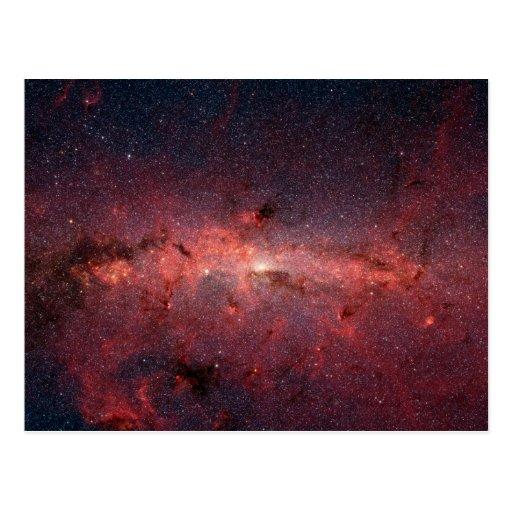 Milky Way Galactic Centre Postcard