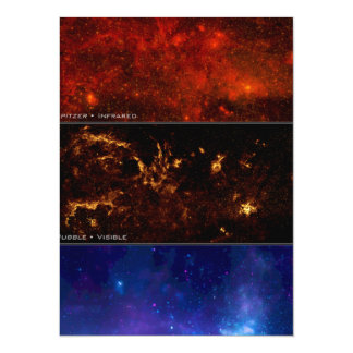 Milky Way Galaxy - It's Spectacular 14 Cm X 19 Cm Invitation Card