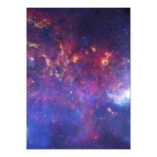 Milky Way Galaxy - Our Beautiful Neighborhood 14 Cm X 19 Cm Invitation Card