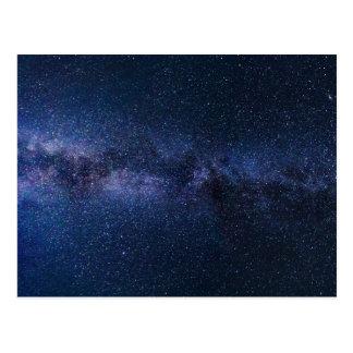 milky way galaxy postcard