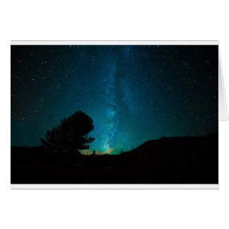 Milky-way Greeting Card