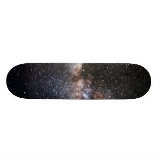 Milky Way Nebula Galaxy Universe 21.6 Cm Skateboard Deck