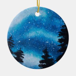 Milky Way Night Sky Ornament