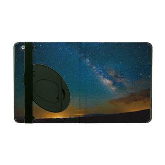 Milky Way over Taos, New Mexico iPad Cover