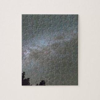 Milky Way Perseid Meteor Shower Puzzles