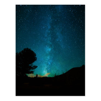 Milky-way Postcard