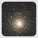 Milky Way Star Cluster Square Sticker