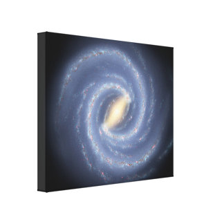 Milky Way Wrapped Canvas Print