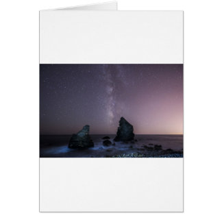 Milkyway Greeting Card