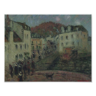 Mill at Pont Aven by Gustave Loiseau Print