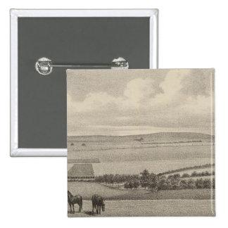 Mill Brae Ranch, Kansas 15 Cm Square Badge