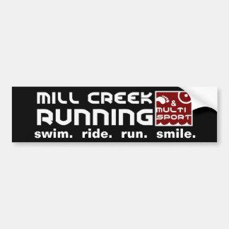 Mill Creek Club Standard Bumper Sticker