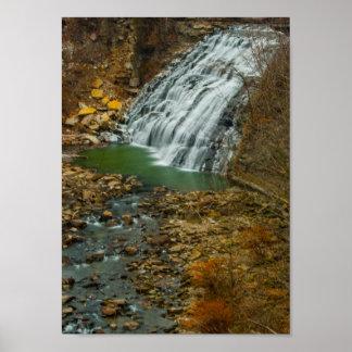Mill Creek Falls, Cleveland, Ohio Poster