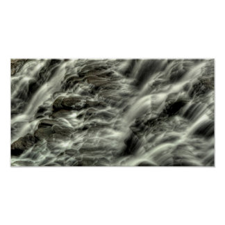 Mill Creek Falls, upclose, Cleveland, Ohio Poster