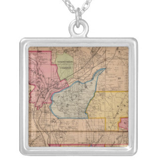 Mill Creek, Ohio Silver Plated Necklace