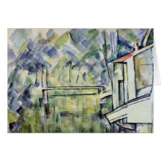Mill On The River By Paul Cézanne (Best Quality) Card
