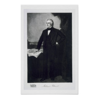 Millard Fillmore, 13th President of the United Sta Poster