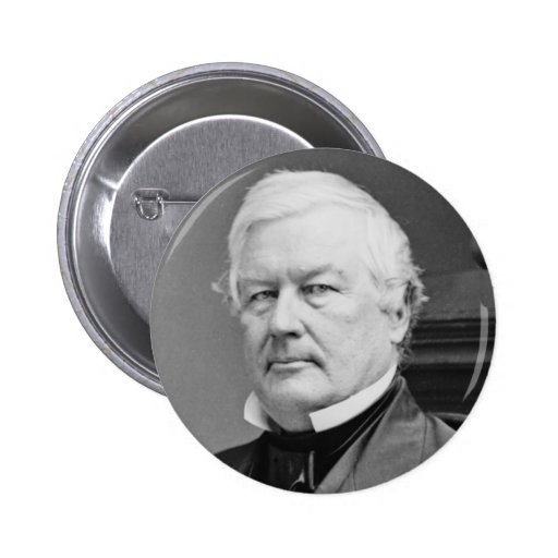 Millard Fillmore 6 Cm Round Badge