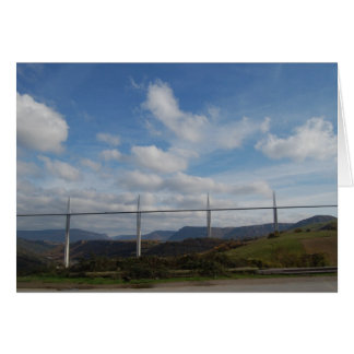 Millau Viaduct, France Stationery Note Card