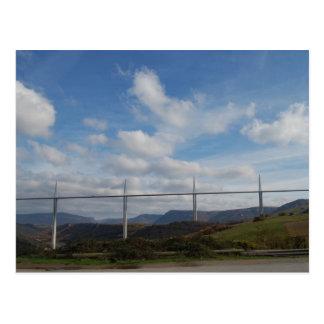 Millau Viaduct, France Postcard