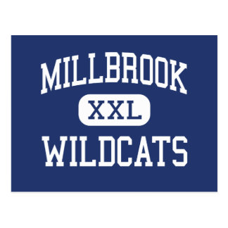 Millbrook - Wildcats - High - Raleigh Postcard
