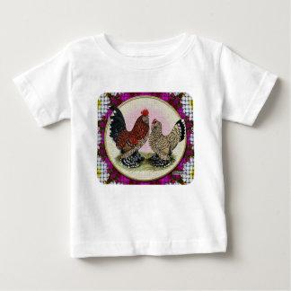 Mille Fleur Crosshatch Flowers Infant T-Shirt