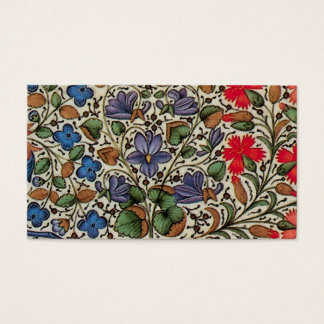 Mille fleurs - medieval flowers