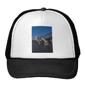 Millenium Bridge and St Pauls Cathedral Mesh Hats