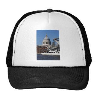 Millenium Bridge and St Pauls Cathedral Hat
