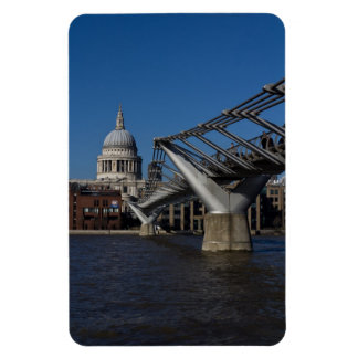 Millenium Bridge and St Pauls Cathedral Magnet