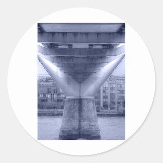 Millenium Bridge Classic Round Sticker