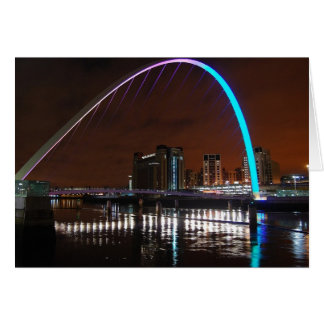 Millenium Bridge, Gateshead Greeting Card