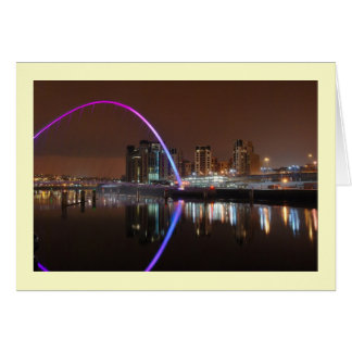 Millenium Bridge, Gateshead Greeting Card