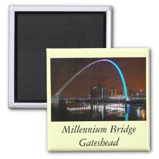 Millenium Bridge Gateshead Magnets