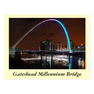 Millenium Bridge, Gateshead Postcard