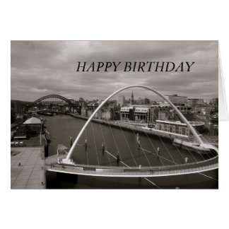 Millenium Bridge HAPPY BIRTHDAY Card