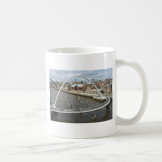 Millenium Bridge Newcastle England Mug