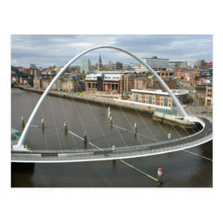 Millenium Bridge Newcastle  England Post Card