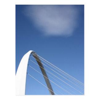 Millenium Bridge Newcastle, England Post Card