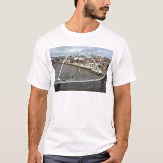 Millenium Bridge Newcastle England Tee Shirt