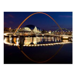 Millenium Bridge Newcastle Postcard